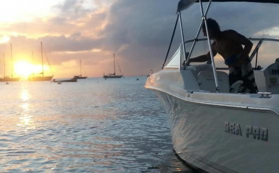 Boat Renting Martinique - 1/2 day