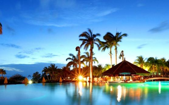 Twilight at Pierre & Vacances Vacation Club, Sainte Luce, Martinique
