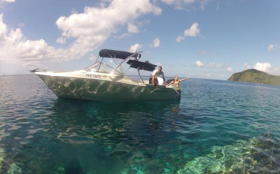 Location bateau journée Martinique