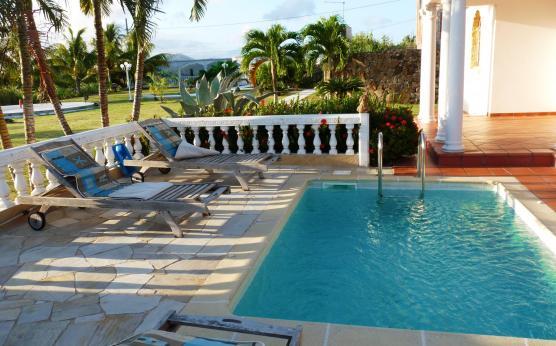 Piscine, Villa Palatium, Martinique