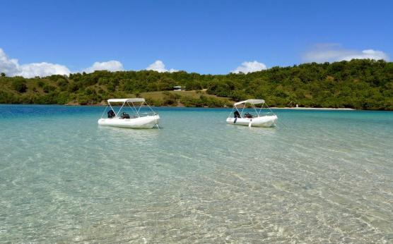 Bateau sans permis, Martinique