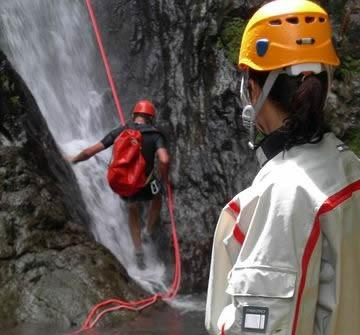 Canyoning Martinique Lottière