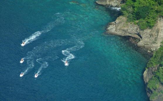 Jet ski Martinique, Rando 1 heure