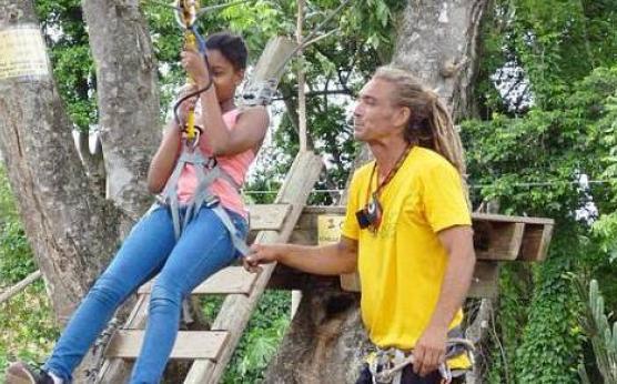 Parc aventure enfant, Martinique