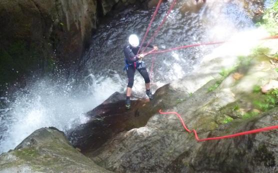 Canyoning Martinique Rivière Mitan