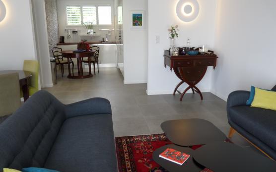 Salon et cuisine, Alpina - Martinique