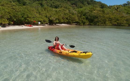 Les Ilets en kayak, Martinique