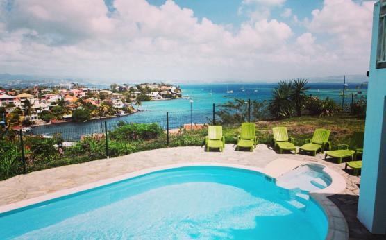 Résidence Martinique vue mer piscine - Villa Mélissa.jpg