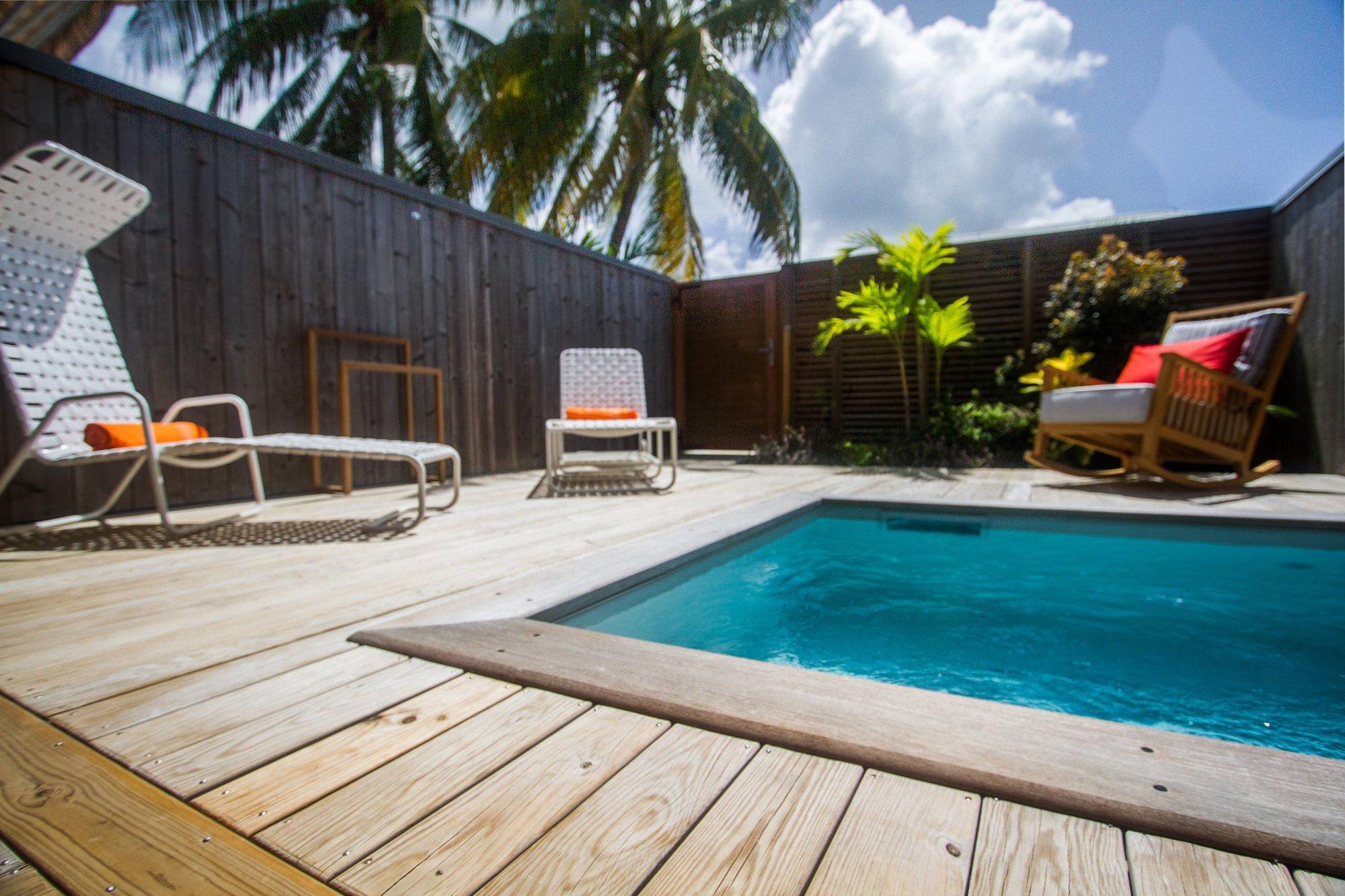 H tel french coco en martinique piscine priv e for Boutique hotel martinique