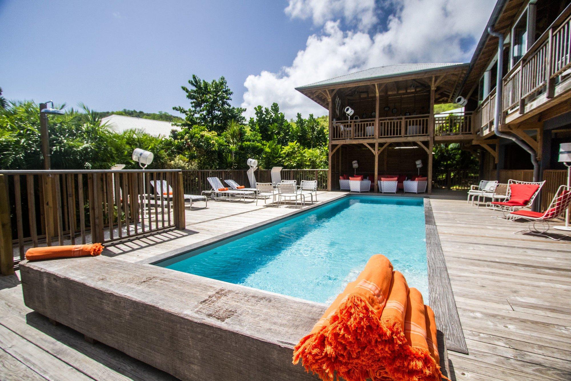 H tel french coco en martinique piscine priv e for Hotel piscine privee